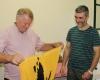 Didier avec le directeur du centre de formation