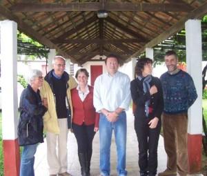 Rencontre du mùaire de Pedras Alta au Brésil lors d'une mission